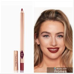 New! Charlotte Tilbury lip cheat savage rose color